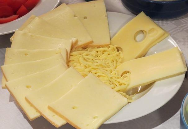Bild Auswahl Käsesorten für Raclette